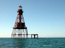американское мелководье маяка Стоковое Изображение