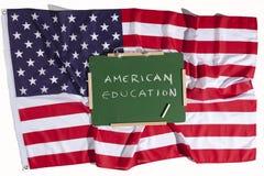 американское образование Стоковая Фотография