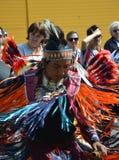 Американское платье индейца полностью Стоковая Фотография RF
