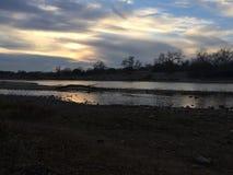американское река Стоковая Фотография