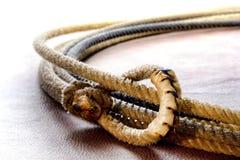 американское родео lasso lariat hondo ковбоя западное Стоковая Фотография