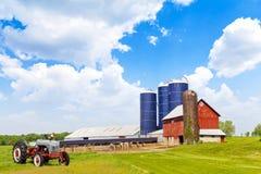 Американское сельскохозяйственне угодье Стоковое Изображение RF
