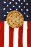 американское яблоко как расстегай Стоковые Изображения RF