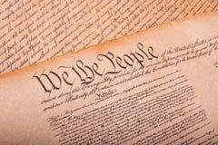 американское fashionet конституции старое Стоковые Фотографии RF