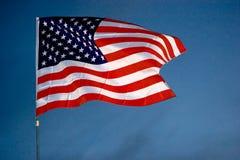 американское flasg Стоковая Фотография