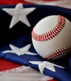 американское passtime бейсбола Стоковые Фото
