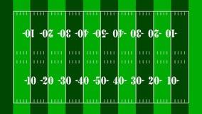 американско очистьте футбол поля конструкции Стоковое Изображение