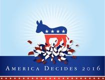 Америка 2016 избраний Стоковое Изображение RF