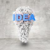 лампа 3d Стоковое Изображение