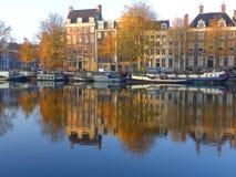 Амстердам, Amstel стоковое фото