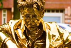 30-05-9019 Амстердам artzuid Нидерланд в fabre января статуи Амстердама золотом 1958 БЕЛОВ стоковая фотография