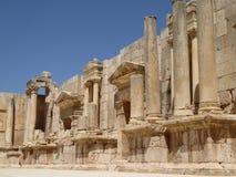 Амфитеатр в Jerash Стоковая Фотография