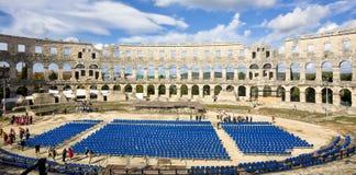 амфитеатр римский Стоковое Изображение RF