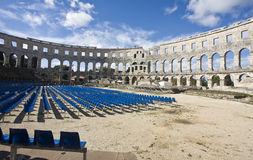 амфитеатр римский Стоковое Фото