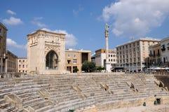 амфитеатр римский Стоковая Фотография RF