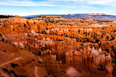 Амфитеатр Bryce, национальный парк каньона Bryce Стоковое Изображение RF