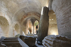 Амфитеатр Flavian (Pozzuoli) Стоковое Изображение RF