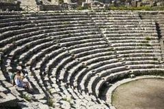 Амфитеатр Segesta Стоковые Фото