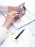 анализировать коммерческие информации Стоковые Изображения RF