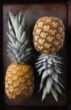 2 ананаса Стоковые Изображения