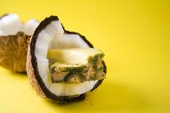 ананас кокоса Стоковая Фотография RF