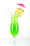 ананас коктеила зеленый тропический Стоковое фото RF