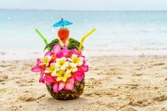 ананас коктеила тропический Стоковое Изображение