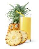 ананас сока стоковая фотография rf