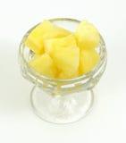 ананас тарелки Стоковые Изображения RF