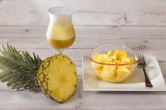 Ананас тропического плода от Южной Америки стоковые изображения rf