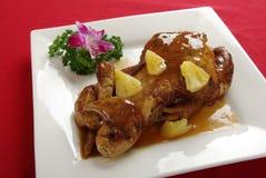 ананас цыпленка Стоковые Фотографии RF