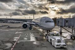 АНА все воздушные судн Боинга 767 авиакомпаний японии стоковая фотография