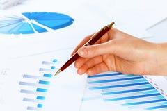 Анализировать рапорт стоковые изображения rf