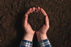 Анализ изобилия почвы как аграрная деятельность Стоковые Фото
