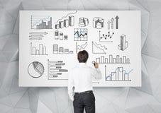 Анализ коммерческих информаций стоковые изображения