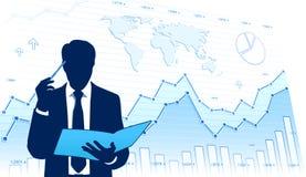 Аналитик деловой активности Стоковая Фотография RF