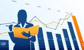 Аналитик деловой активности Стоковое Изображение RF