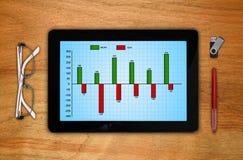 Аналитический план-график Стоковые Изображения