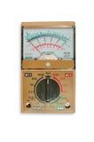 Аналогический вольтамперомметр метра Вольт-ома стоковое изображение rf