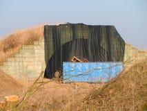 Ангар военного самолета Стоковая Фотография RF