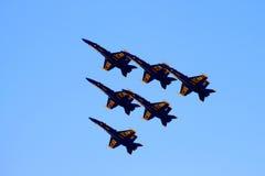 ангелы голубые Стоковые Фото