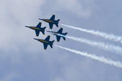ангелы голубые Стоковое Фото