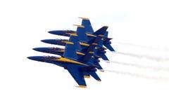 ангелы голубые Стоковая Фотография RF