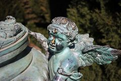Ангелы живут не только на небесах стоковые изображения rf