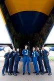 Ангелы капитана A.J. Harrell тучные Альберт голубые Стоковые Изображения RF