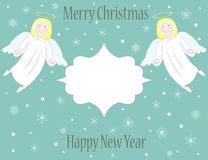 Ангелы рождества Стоковые Фотографии RF