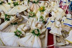 Ангелы - handmade подарки стоковое изображение