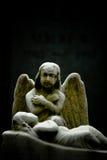 ангел держа вахту Стоковые Изображения RF