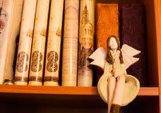 Ангел знания стоковое изображение rf