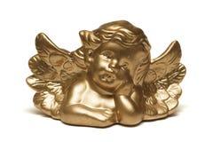 ангел золотистый Стоковые Изображения